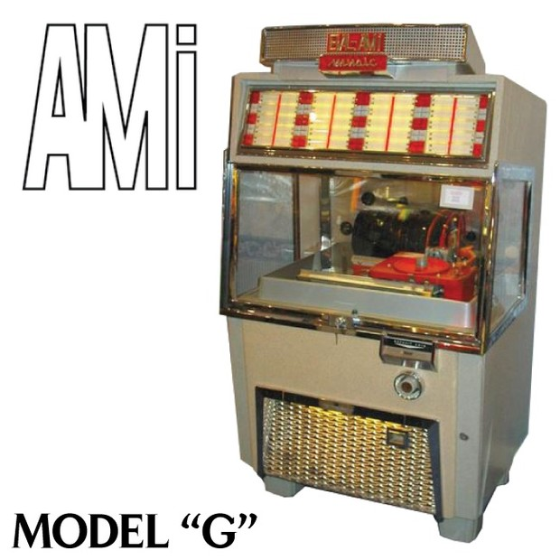 AMI  Model G 40, 80, 120   (1955)       Manual & Brochure