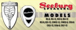 Seeburg  Speakers Technical Information and Installation  Manual