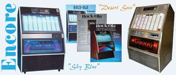 Rock-Ola    494, 494-1, 494-2    (1987-88)  Manuals & Brochure
