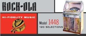 Rock-Ola  1448 (1955) Service & Parts Manual and Brochures