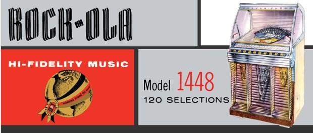 Rock-Ola  1448 (1955) Service & Parts Manual and Brochures