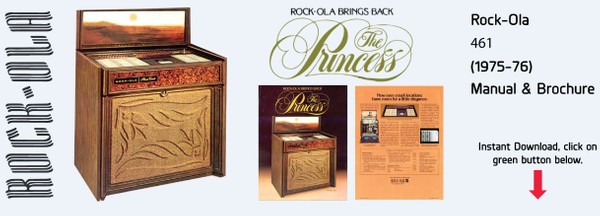 "Rock-Ola 461 ""Princess"" (1975-76)"