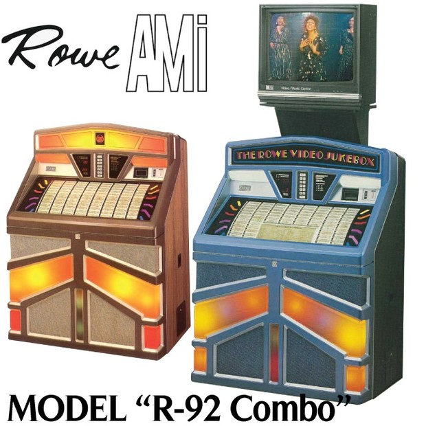 Rowe AMI  R-92 Combo,  Video Entertainment     (1986)