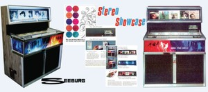 "Seeburg SS160 ""Stereo Showcase""  (1967)    Manuals & Brochure"