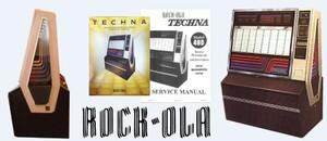 Rock-Ola Techna Service Manual 1979-80