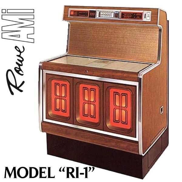 Rowe / AMI    RI-1, RI-1G   (1973)   Brochure