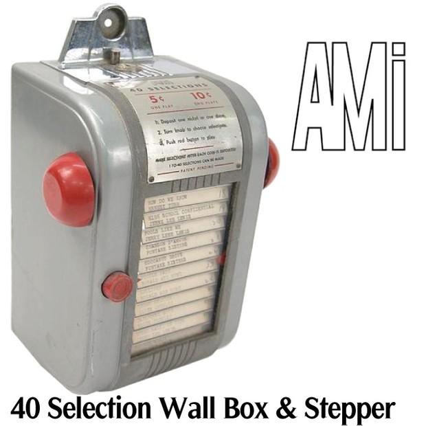 AMI 40 Selection Wall Box & Steppers       (1946)    Manuals & Brochure
