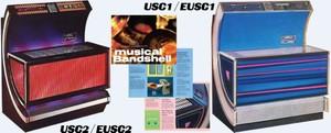 Seeburg    USC1 / EUSC1 USC2 / EUSC2   (1971)   Manuals & Brochures