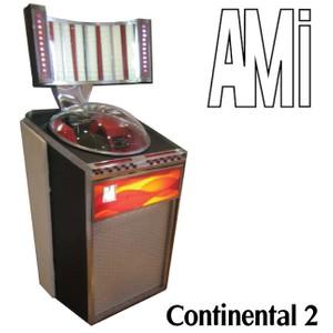 AMI Continental 2 (1962): XJDB-200 Manual and Brochure