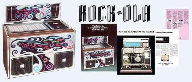Rock-Ola  470  (1977)   4 Page Brochure