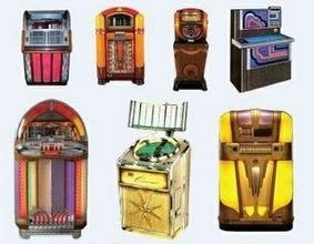Jukebox Icon Set of 95 REAL PHOTO ICONS