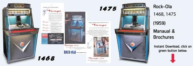 "Rock-Ola Model 1468-75 ""Tempo"" (1959)"