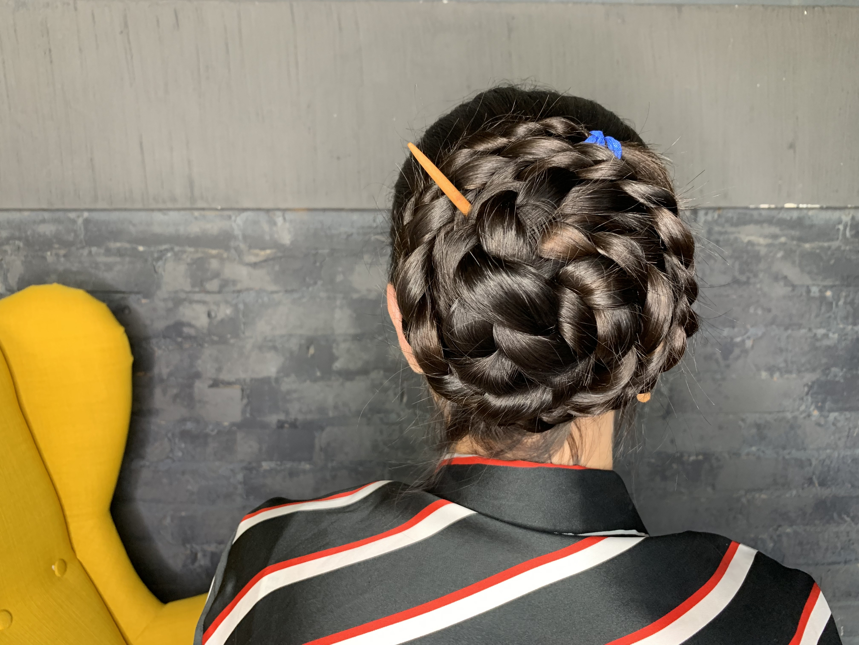 New Video New Hair Style Bun Snail 21 15 Minutes Hd6 022mila