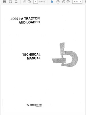 John Deere 4105 Compact Utility Tractors Technical Ma - The ... on