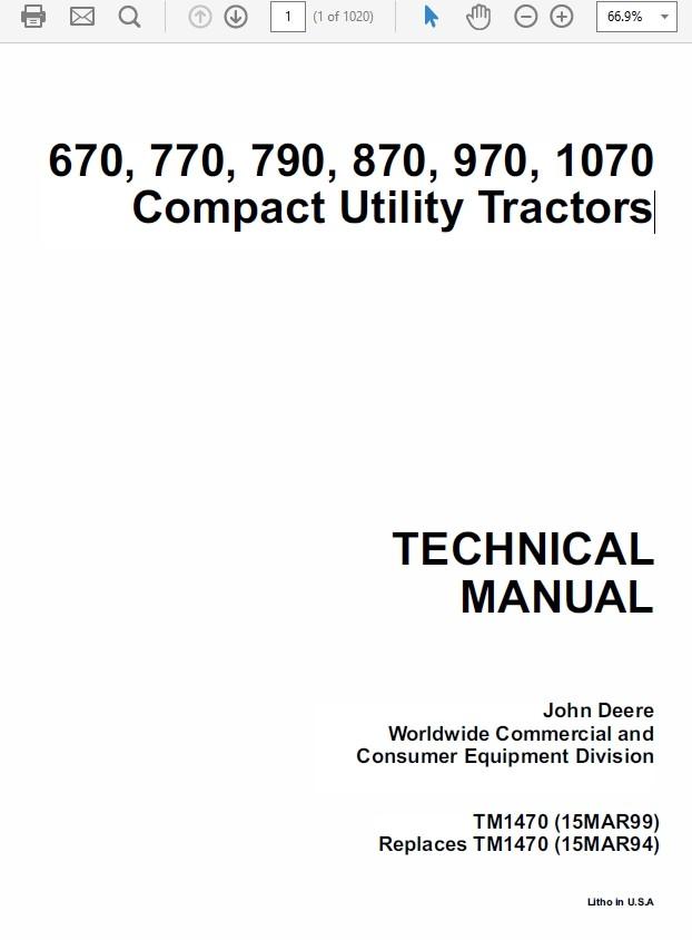 John Deere 670, 770, 790, 870, 970, 107 Compact Utility Tractor Technical on john deere 110 wiring diagram, john deere 3020 wiring schematic, john deere 870 wiring diagram, john deere 250 wiring diagram, john deere alternator wiring diagram, john deere 317 wiring schematic, john deere 400 wiring diagram, john deere 265 wiring diagram, john deere 650 wiring diagram,