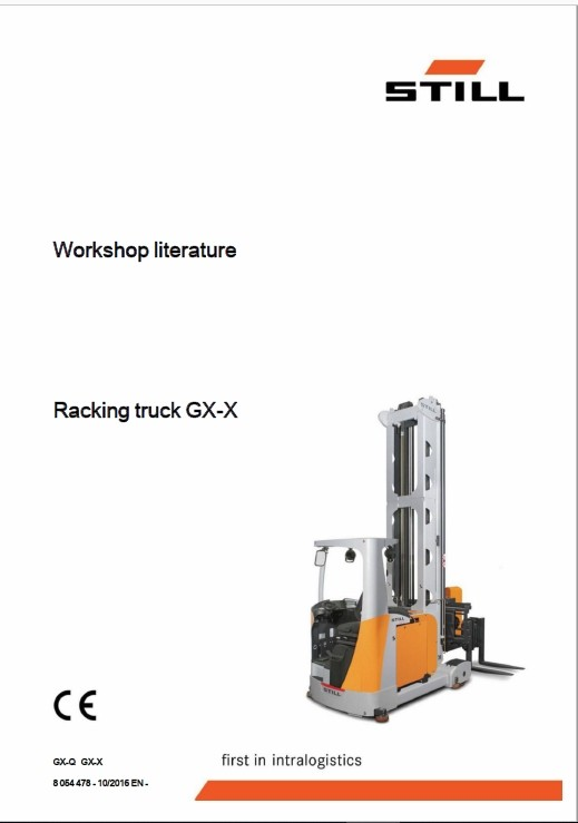 Still GX-X Turret Truck Operating and Workshop Repair Manual