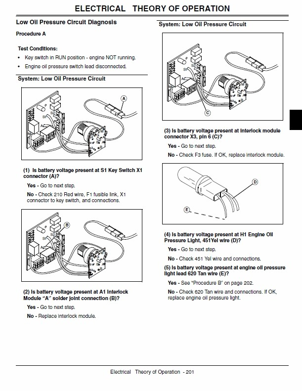 John Deere LX280, LX280AWS and LX289 Garden Tractors Technical Manual on