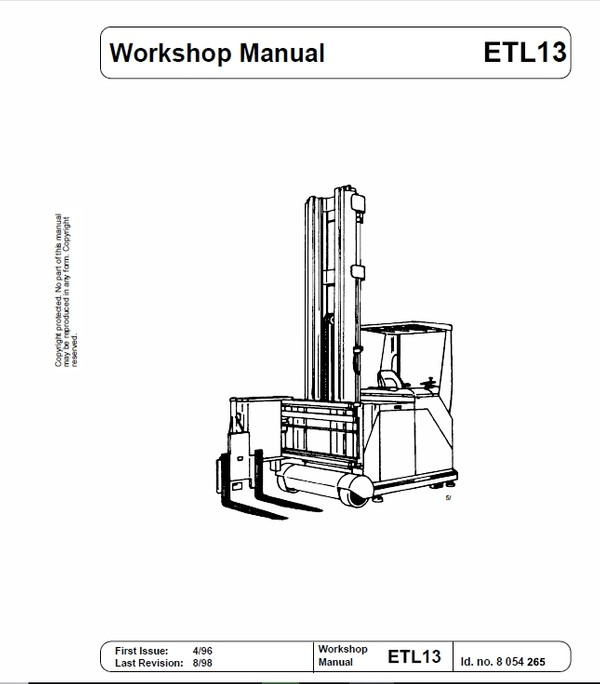 OM Pimespo ETL13 Forklift Workshop Manual