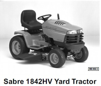 John Deere Sabre Tractors 1948GVHV, 2148HV, 2354HV, 2554HV Technical Repair Manual TM-1841