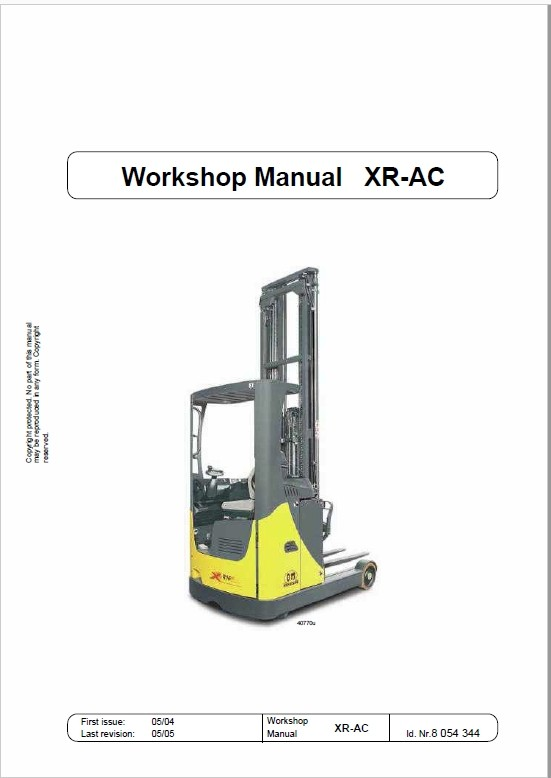 OM Pimespo XRac Reach Trucks Workshop Repair Manual