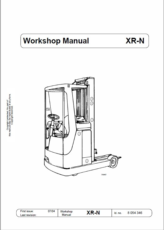 OM Pimespo XRN Reach Trucks Workshop Repair Manual
