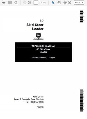John Deere 344E and 444E Loader Technical Manual TM-1 - The Repair