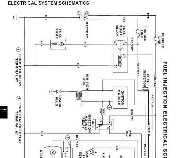 john deere 240, 245, 260,265, 285, 320 lawn and garden tractors tm 1426 Ford Tractor 12V Wiring Diagram
