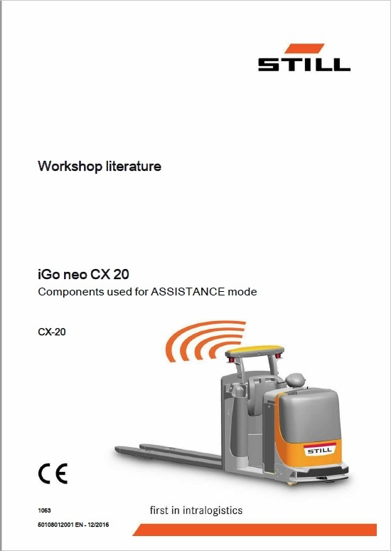 Still iGo neo CX20 Workshop Schematics Repair Manual
