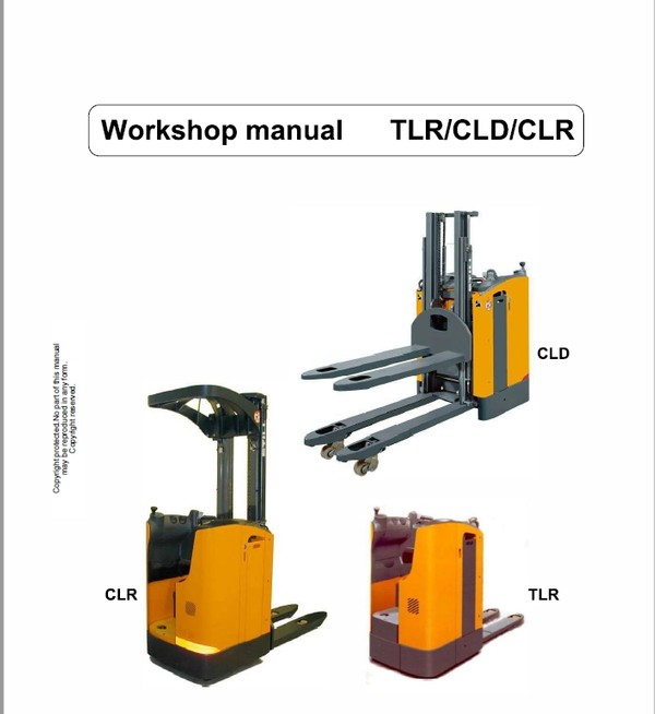 OM PIMESPO TLR, CLD and CLR Pallet Stacker Workshop Repair Manual