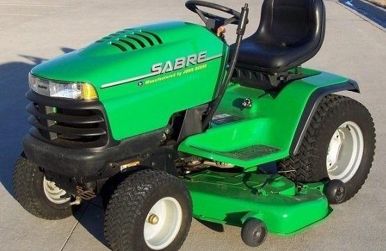 John Deere Sabre >> John Deere Sabre Garden Tractors 2048hv 2254hv 2554hv Technical Manual Tm 1741