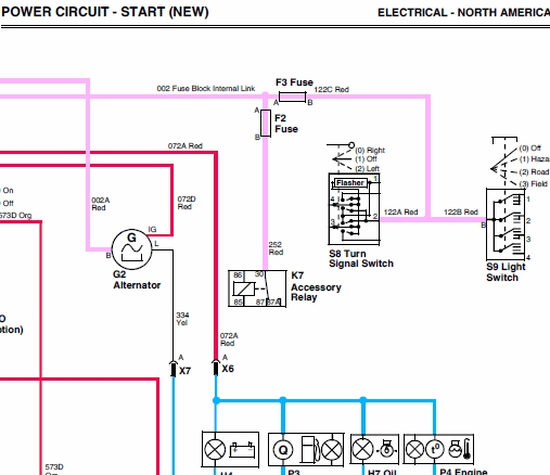 john deere 4500, 4600 and 4700 compact utility tractos technical manual tm 1679 John Deere Electrical Schematics