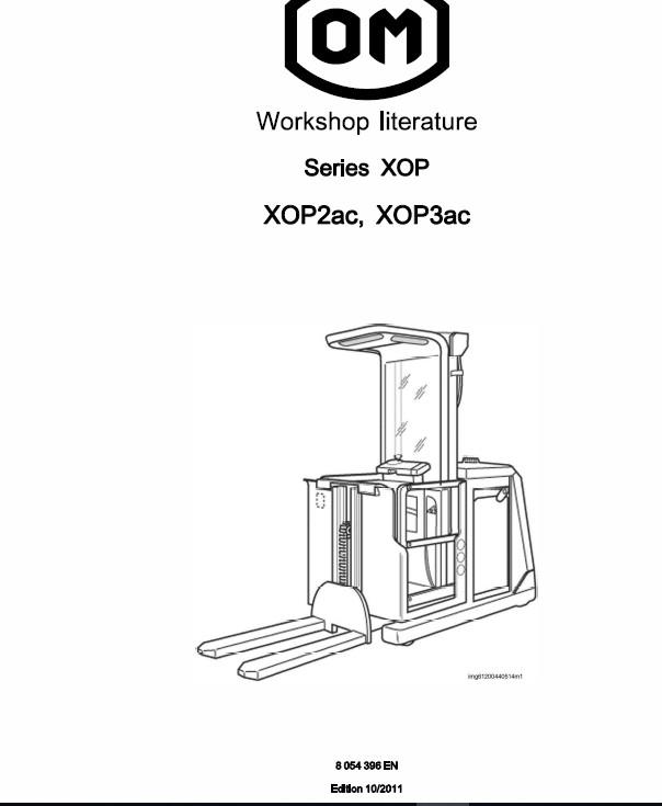 OM Pimespo XOP2, XOP3, XOP2ac and XOP3ac Ordre Picker