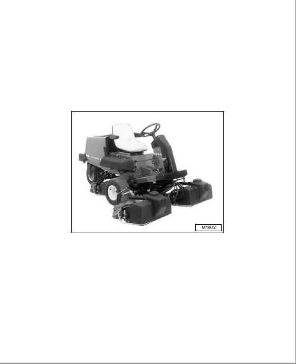 John Deere 2243 Gas Diesel Professional Greensmower Technical Manual TM-1473
