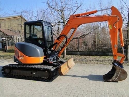 Hitachi Hydraulic Excavator Technical Manual ZX 40U-4 & 50-U-3