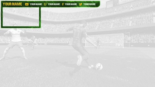 Twitch / Hitbox livestream template pack