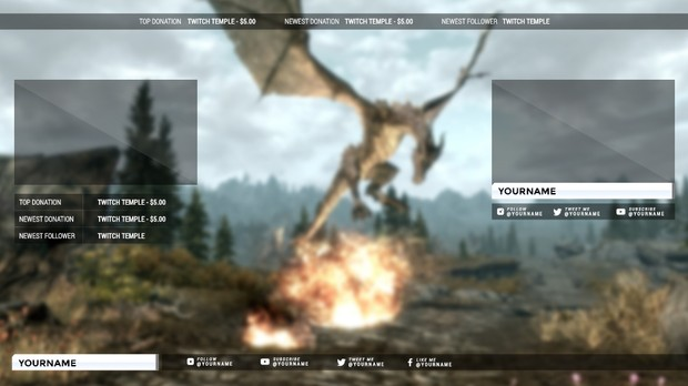 Bootstrapped Twitch Stream Overlay