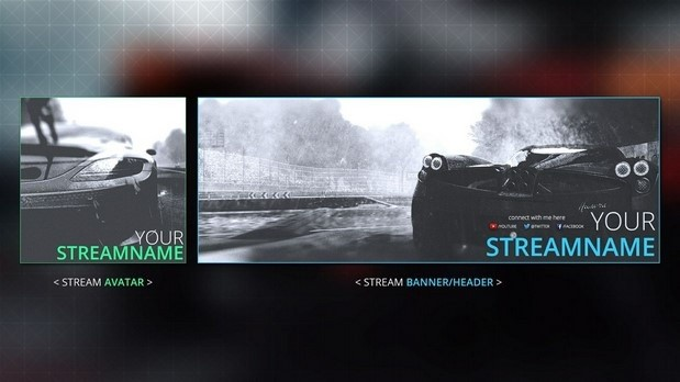 Project Cars | Complete Twitch Pack
