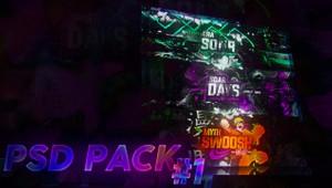 PSD Pack #1 +1 Bonus Unseen