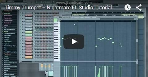 Timmy Trumpet – Nightmare FL Studio Tutorial FLP+Presets