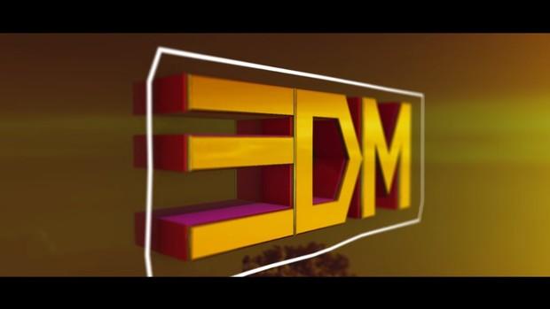 3D EDM Audio Reactive Layout