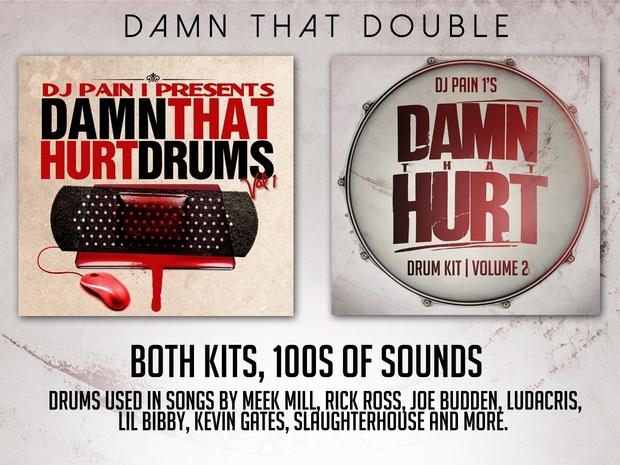 DJ Pain 1 - BOTH Hip-Hop Drum Kits