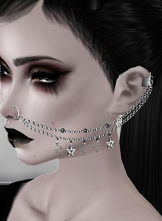 Nose Chains Texture! MESH HEAD COMPATIBLE!