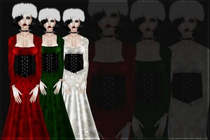 Xmas Gowns!