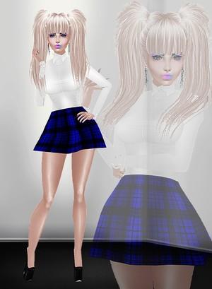 Sexy Schoolgirl! TEXTURE ONLY!
