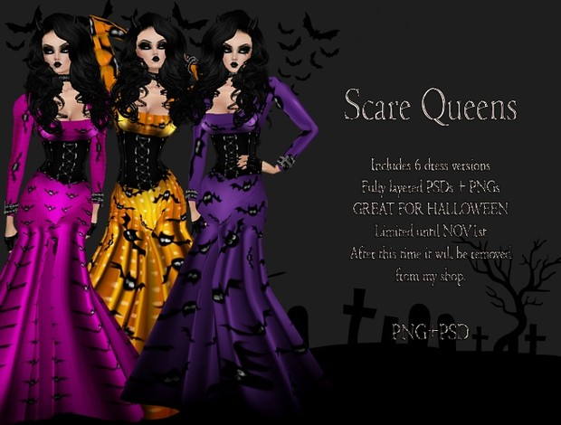 Scream Queen Gowns!