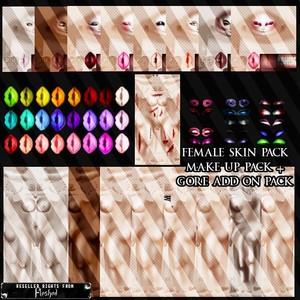 Female Skin Pack!