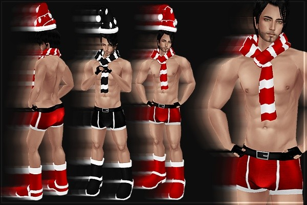 Sexy Santa Male Bundle