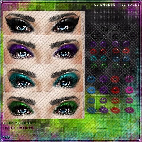 Alien Makeup!
