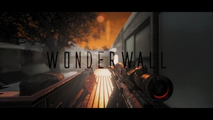 Wonderwall with clips