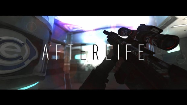 Afterlife project file with clips
